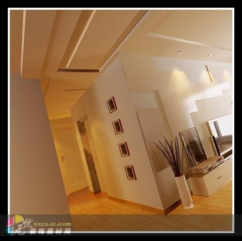 以暖色为主调,影视墙做隐形门,儿童房简单活泼.  更多项目